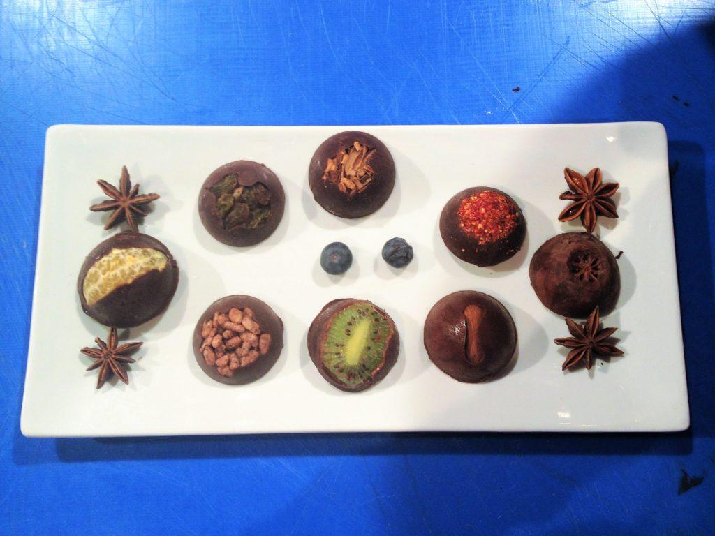 come fare cioccolatini con la frutta fai da te