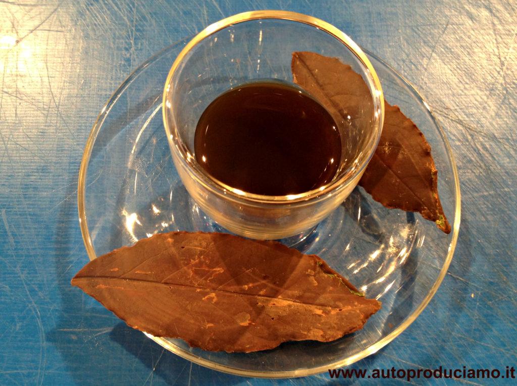 come fare i cioccolatini a foglia