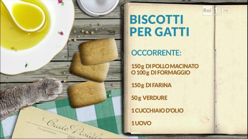 Ingredienti per i biscotti per gatti