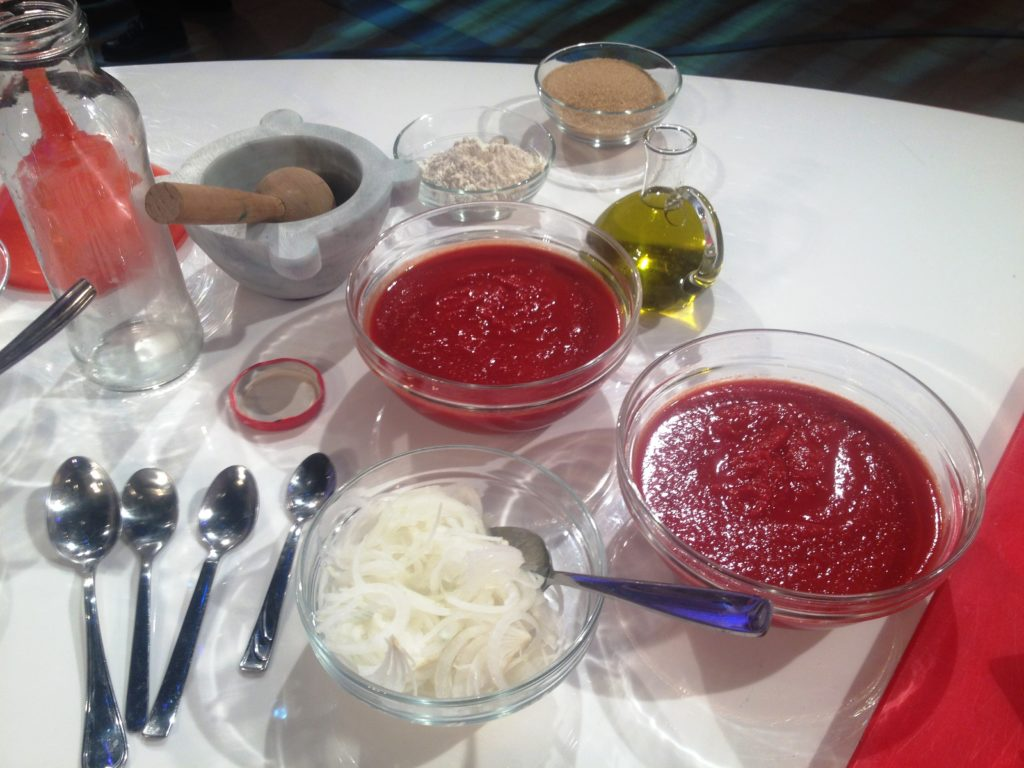 Ingredienti per il ketchup