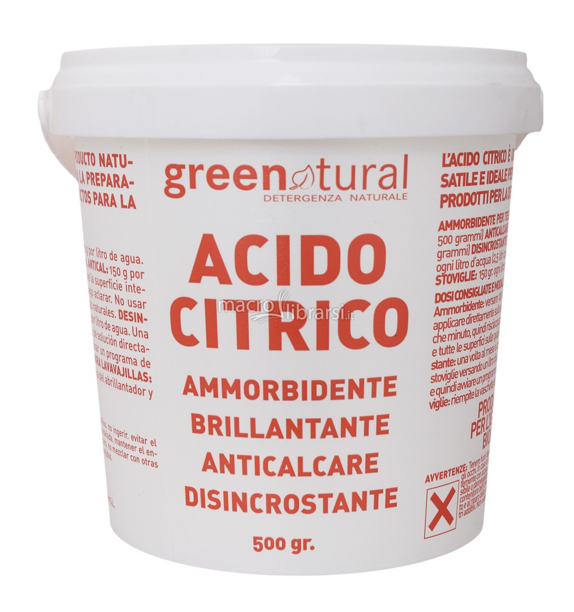 Acido citrico green natural autoproduciamo - Bombe da bagno senza acido citrico ...