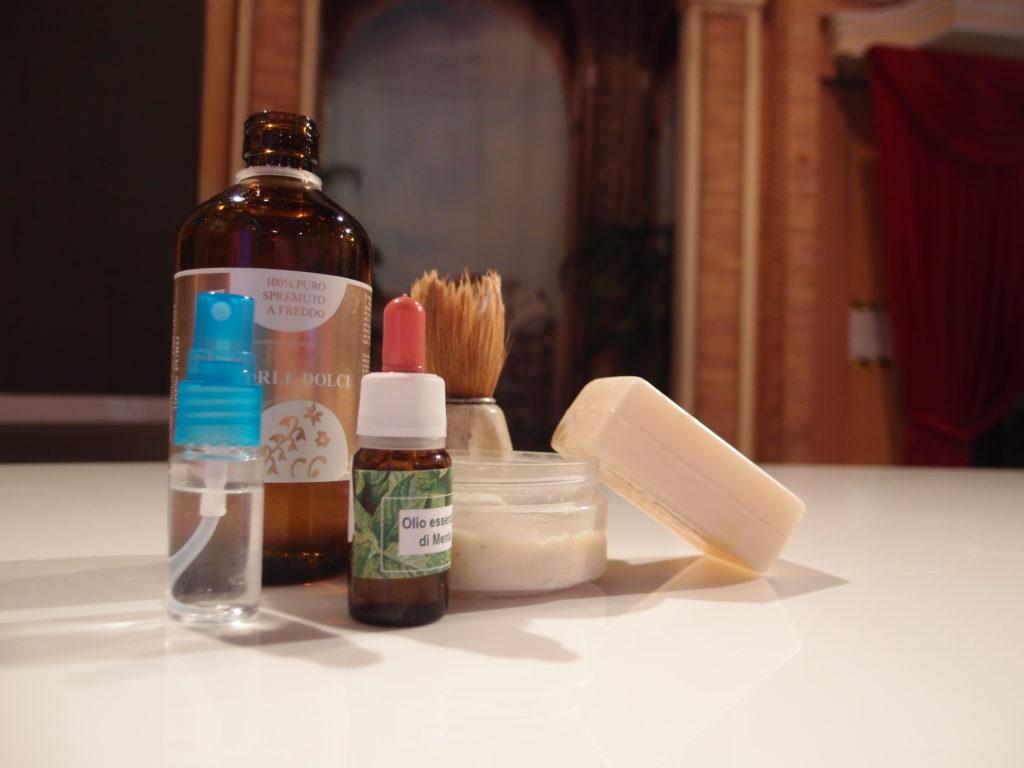 Ingredienti schiuma da barba