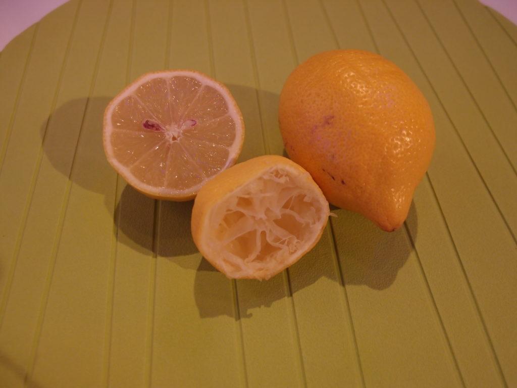 Maschera purificante: limone