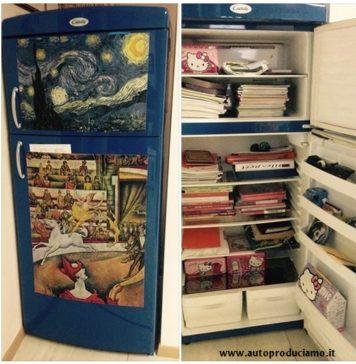 frigorifero riciclato