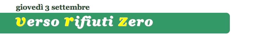 Rifiuti zero - EcoFuturo - Alcatraz