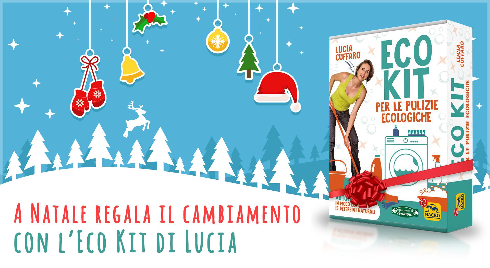 Eco Kit per le Pulizie Ecologiche - Natale