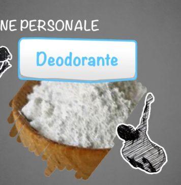 come fare il deodorante