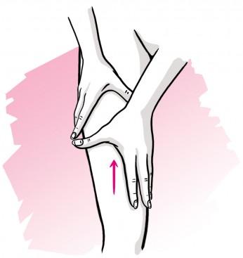 Olio canforato - Massaggio
