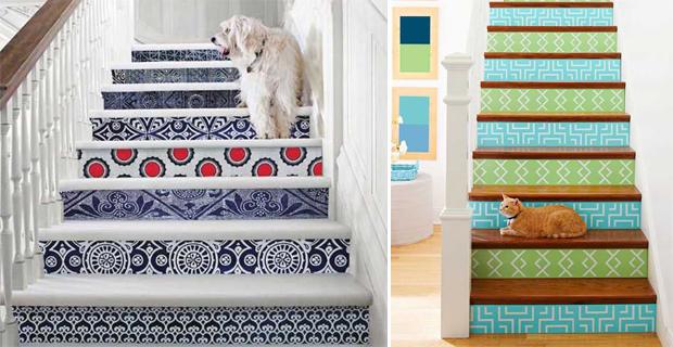 Idee decorare scale m autoproduciamo for Decorazioni per scale interne
