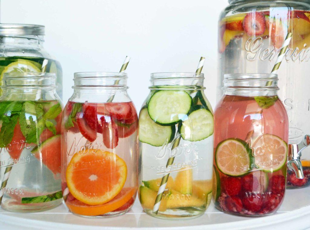 Acqua aromatizzata - Barattoli vetro