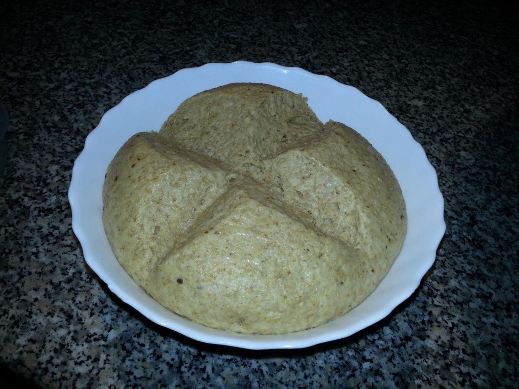 Lievitazione panini dolci integrali