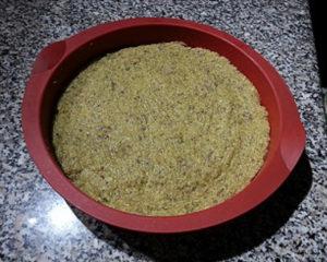 Tortino quinoa composto