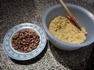Tortino quinoa Ingredienti