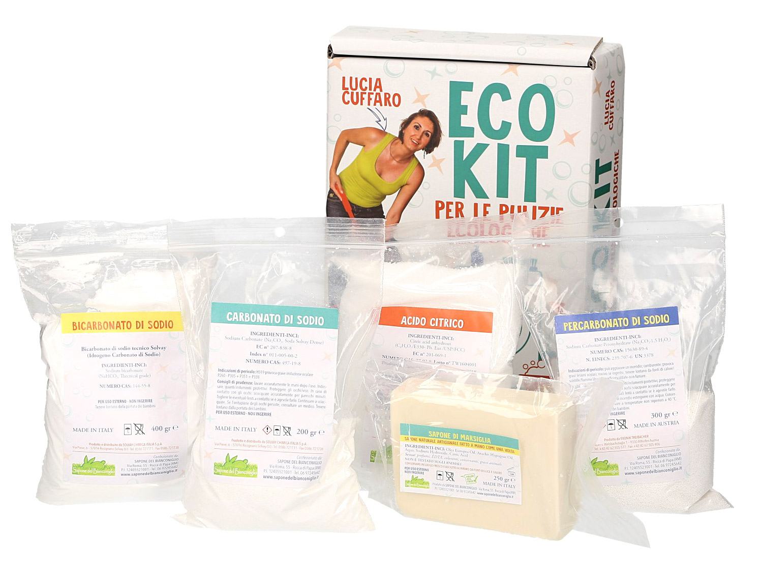 Eco Kit Detersivi Cuffaro