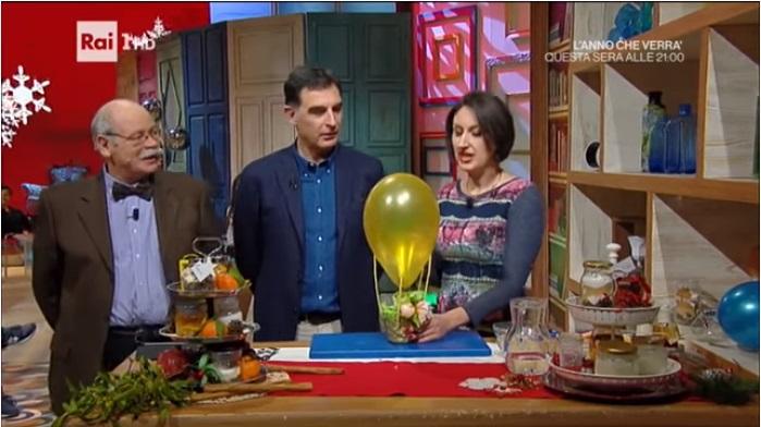 mongolfiera palloncini Lucia Cuffaro