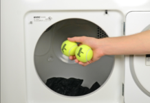 palline tennis lavatrice
