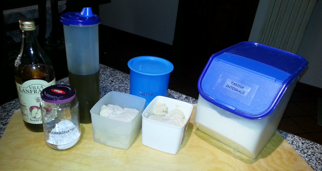 Piadina - Ingredienti