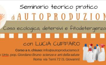 Seminario detersivi Lucia Cuffaro