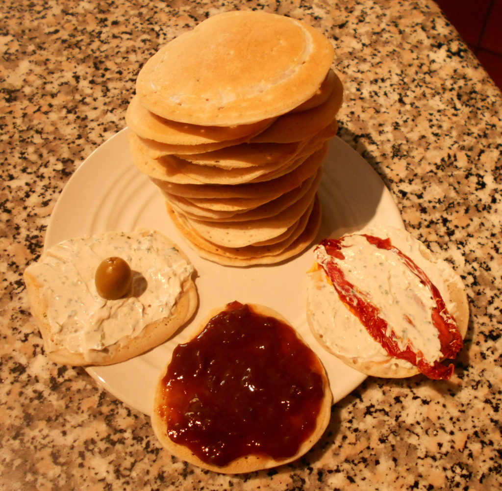 Pancake di pasta madre