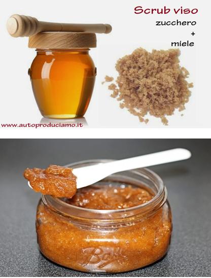 Depurarsi - scrub miele e semolino