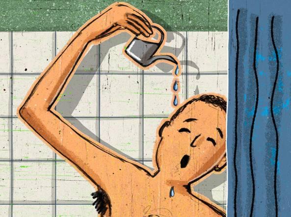lavarsi meno