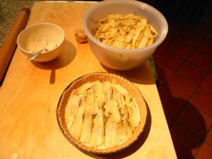 Crostata salata - Bietole