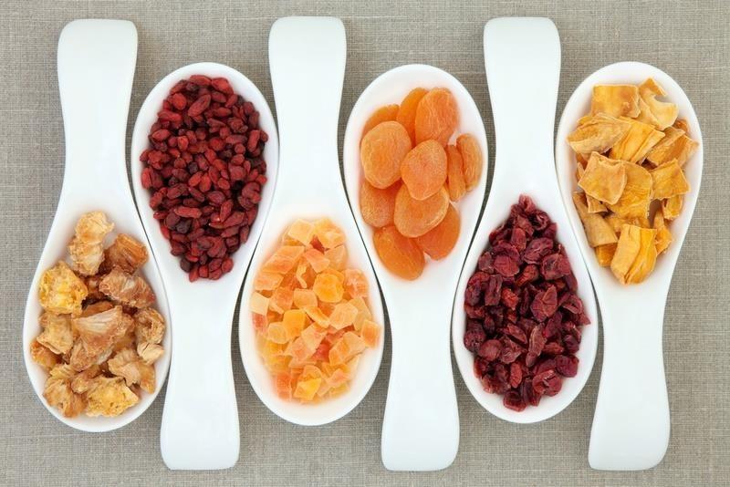 frutta essiccata fatta in casa