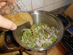 Sugo piselli e cipolla - Dado vegetale