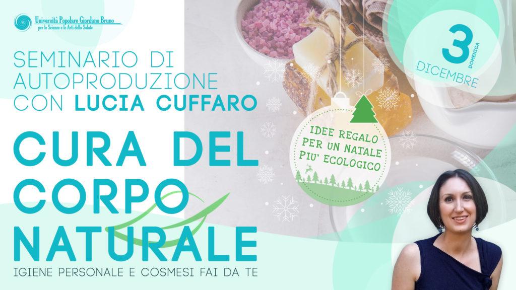 seminario cura corpo natale Lucia Cuffaro