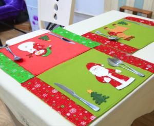 Pulizie invernali - Lavaggio tessili natalizi