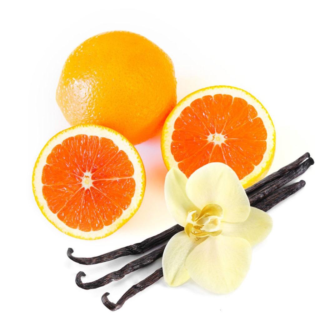 Doccia crema arancia e vaniglia