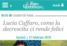 fatto quotidiano Lucia Cuffaro