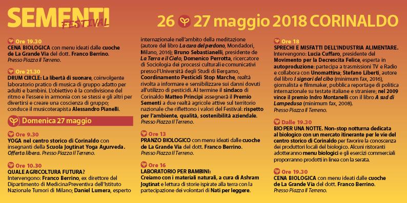 Sementi Festival - Corinaldo 2018
