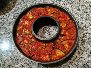 Tortino quinoa e melanzane - Stampo
