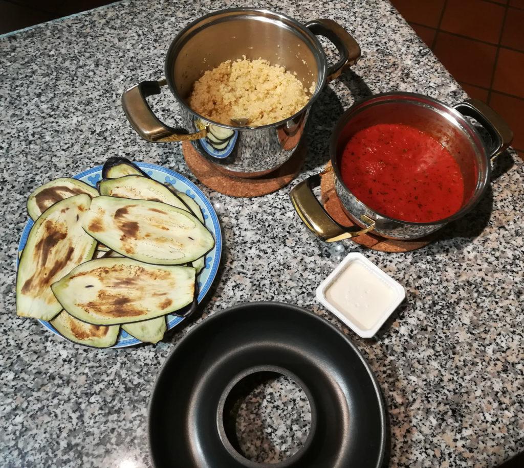 Tortino quinoa - Ingredienti