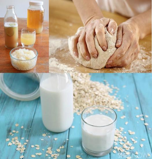 Corso pane pasta madre, kefir, latte vegetale