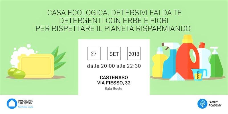 Seminario Casa Ecologica e Detersivi fai da te