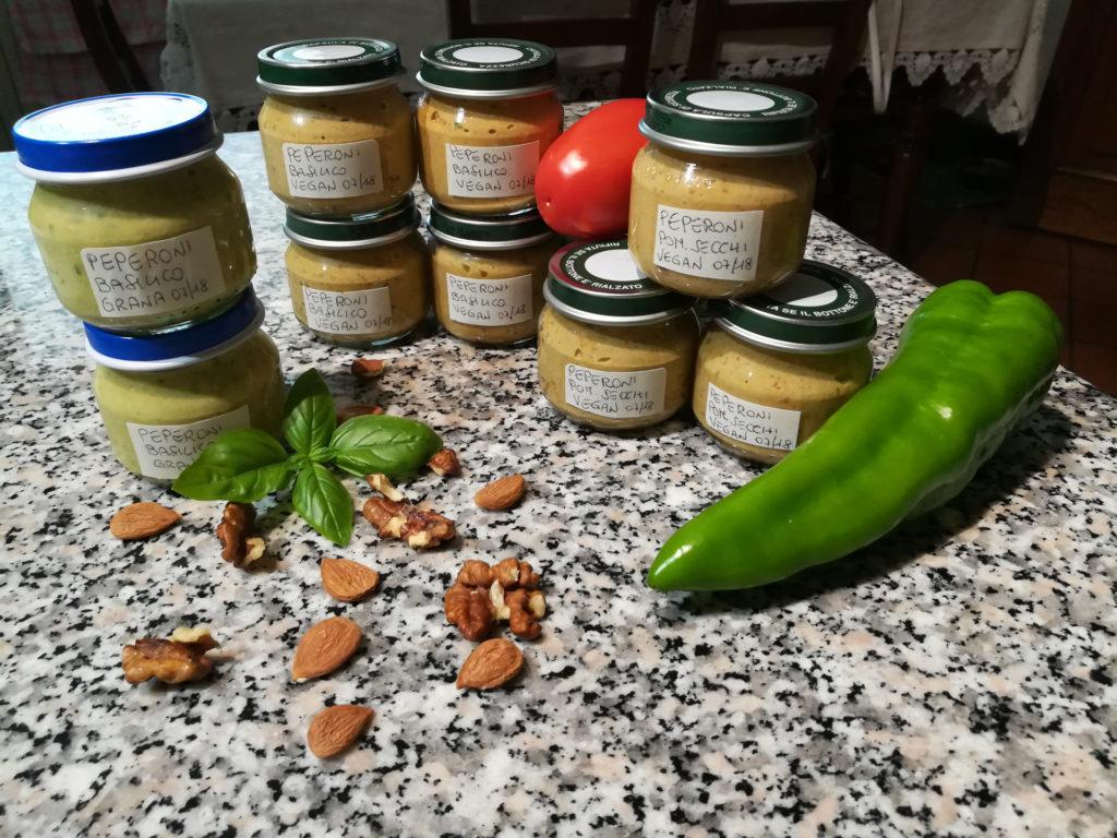 Pesto ai peperoni