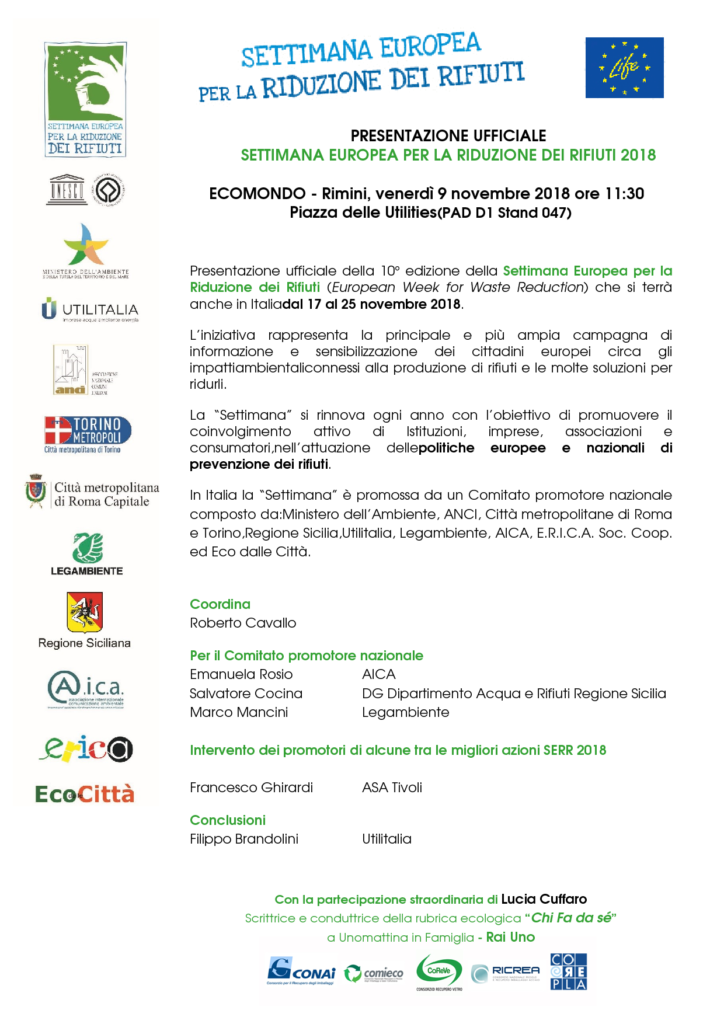 Programma - EcoMondo 2018