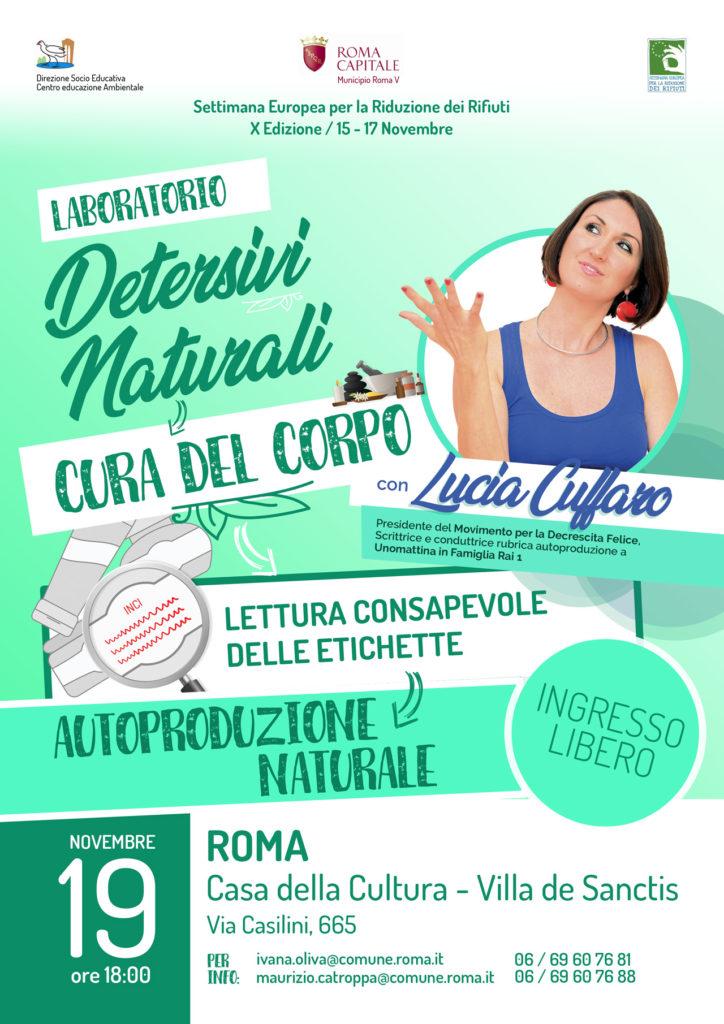 Lucia Cuffaro - Roma Municipio V - SERR 2018