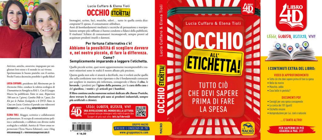 Occhio all'Etichetta Cover - Lucia Cuffaro - Elena Tioli