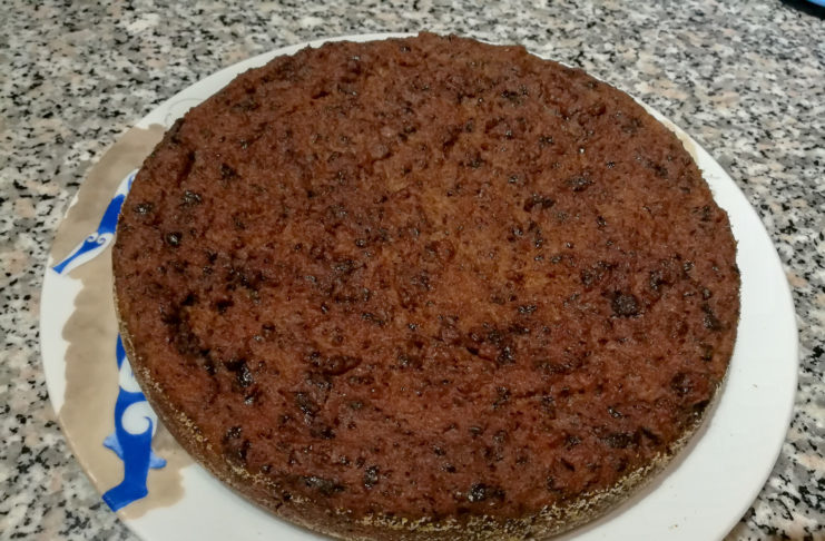 torta di pane vegan