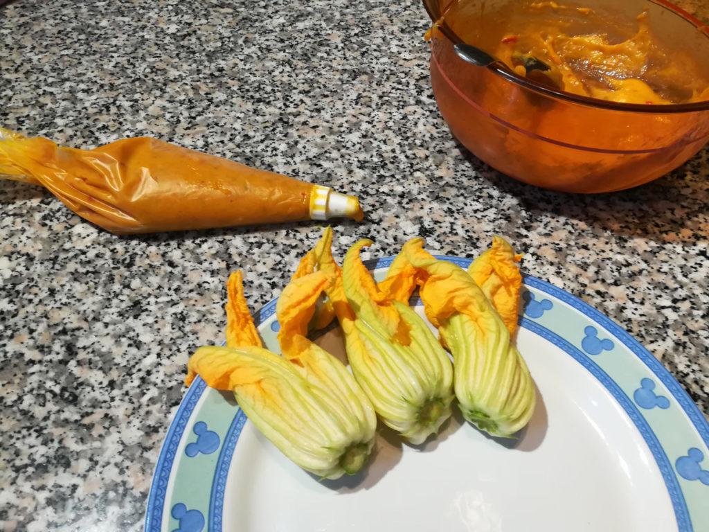 Fiori di Zucca Vegan - Ripieno