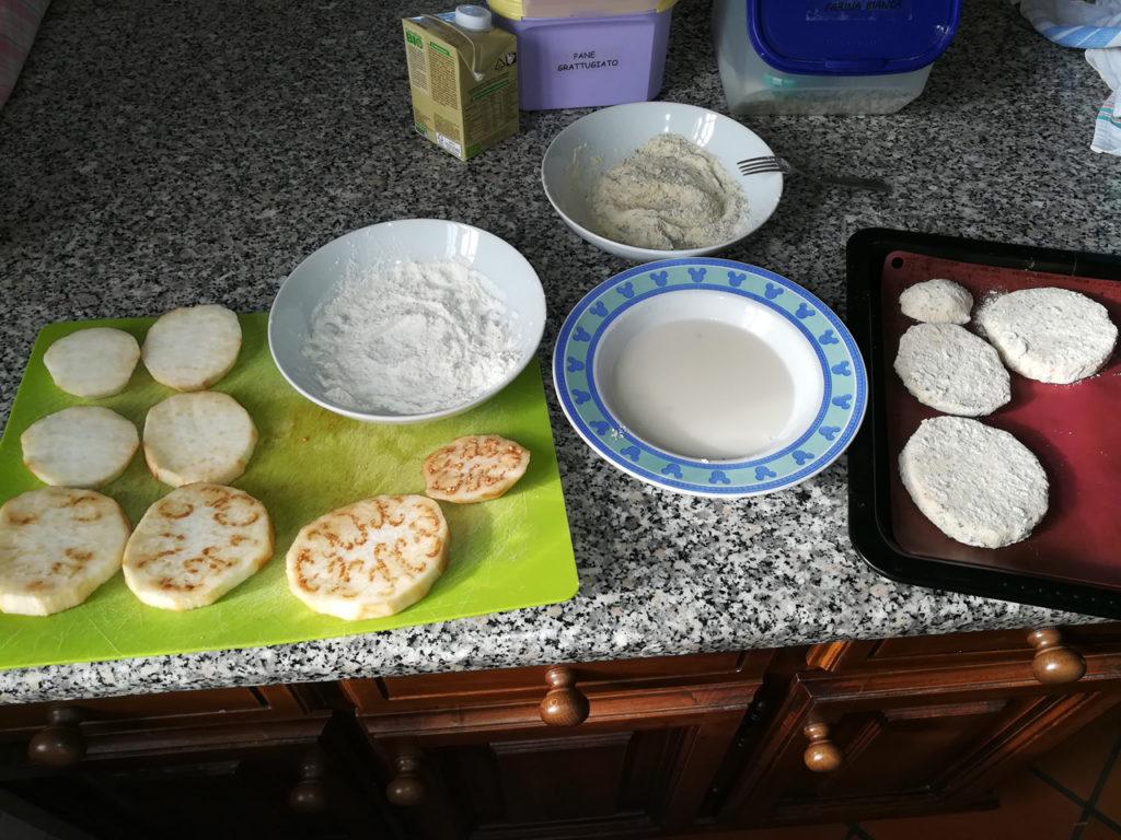 Melanzane e Zucchine gratinate Vegan