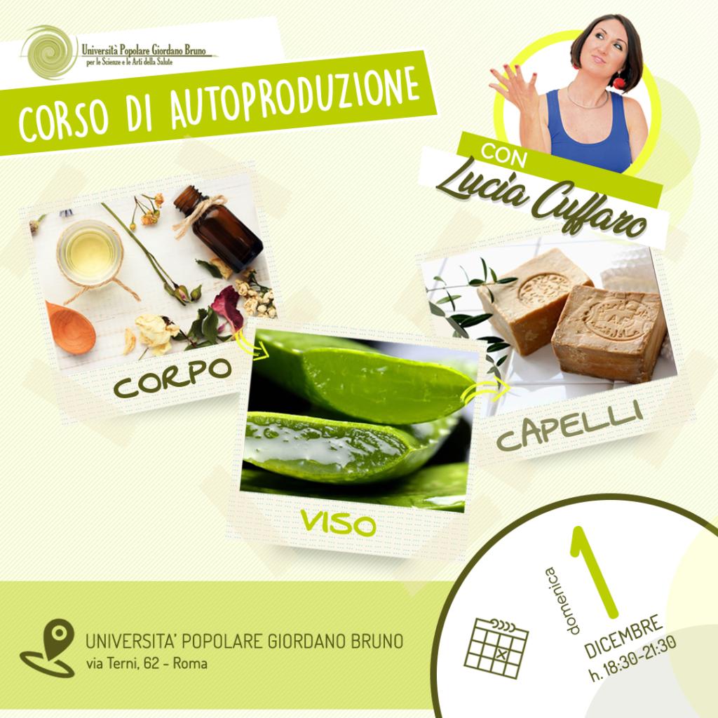 Corso Cura naturale del Corpo - Lucia Cuffaro