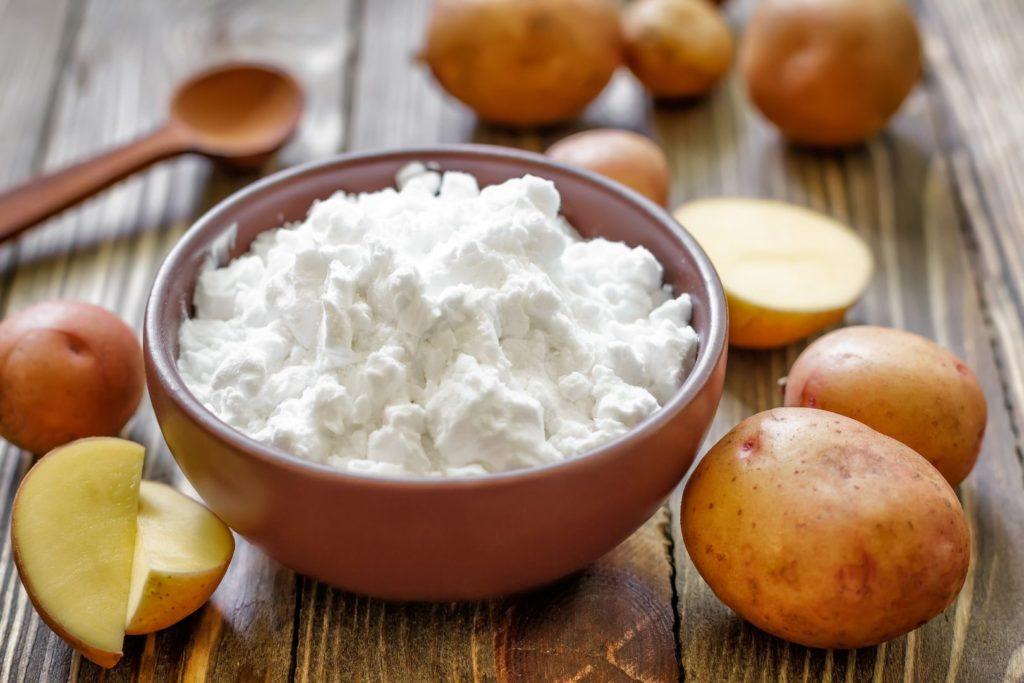 Fecola di patate - Come pulire le macchie di olio