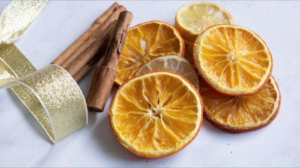 arance essiccate cannella
