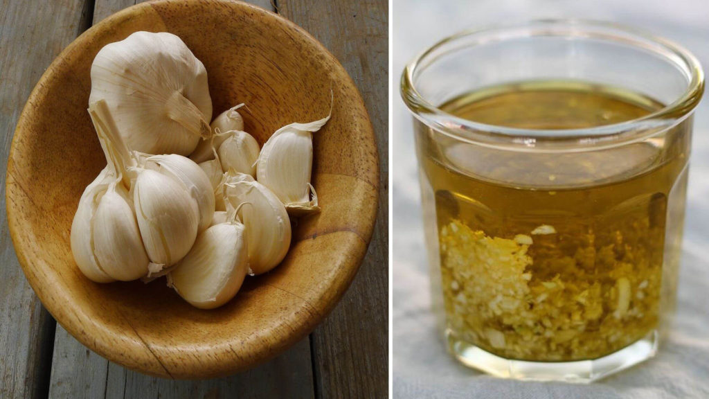 Infuso aglio - antiparassitario naturale