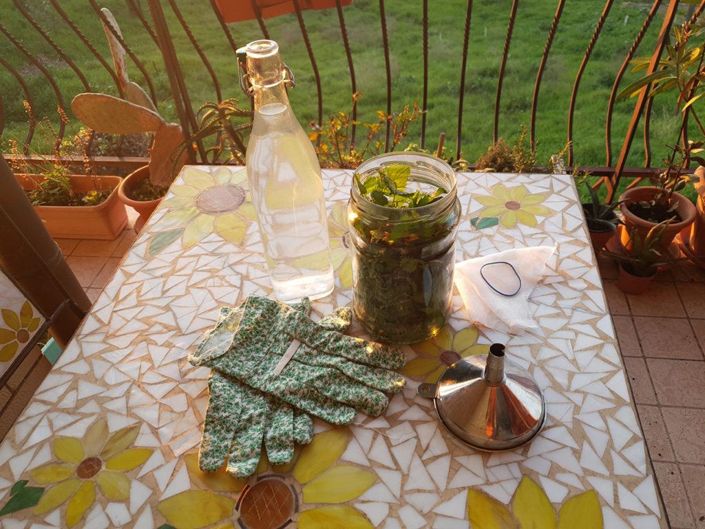 Macerato di ortica - Fertilizzante di ortica
