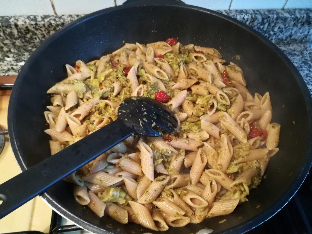 Pasta al forno con broccoli vegan - Padella